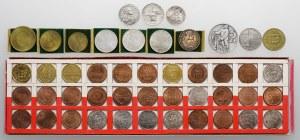Kolekcja żetonów - głównie Mennica Państwowa (46szt)