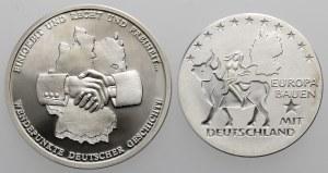 Deutschland, Satz SILBER Medaillen (2pcs)