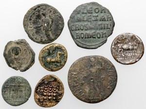 Grecja i Cesarstwo rzymskie - zestaw brązów (8szt)