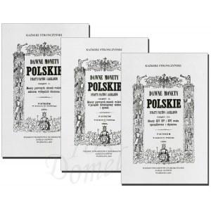 Stronczyński, Dawne monety polskie - Komplet (3szt) - REPRINT