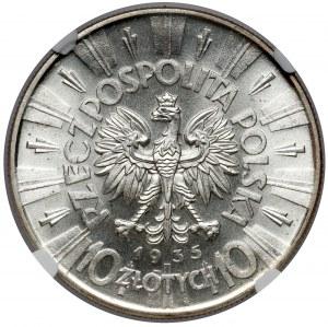 Piłsudski 10 złotych 1935 - okazowy