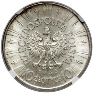 Piłsudski 10 złotych 1936