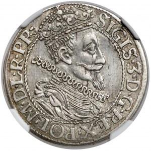 Zygmunt III Waza, Ort Gdańsk 1612 - kropka nad - ładny