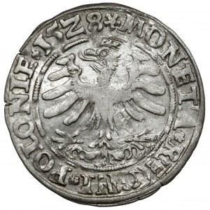 Zygmunt I Stary, Grosz Kraków 1528 - gwiazdki