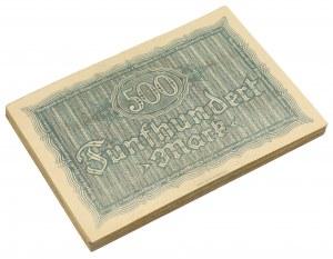 Rugenwalde (Darłowo), PAKIET 500 mk 1922 (60szt)