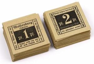 Waldenburg (Wałbrzych), PAKIET 1 i 2 pfg (163szt)