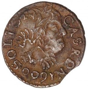 Jan II Kazimierz, Boratynka koronna 1660 - destrukt
