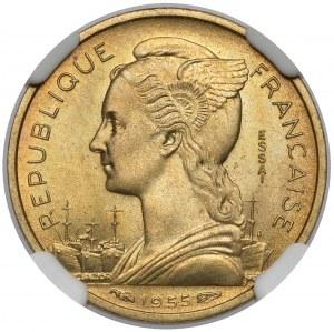 France, 10 francs 1955 - Essai / Próba