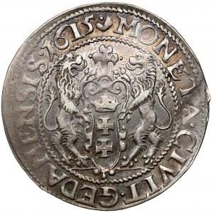 Zygmunt III Waza, Ort Gdańsk 1615 - kropka nad