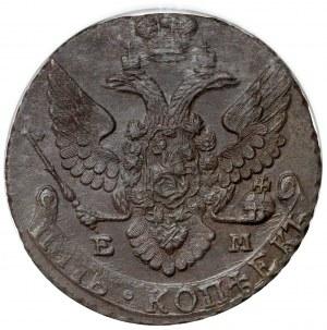 Rosja, Katarzyna II, 5 kopiejek 1795 EM, Jekaterinburg