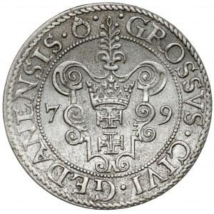 Stefan Batory, Grosz Gdańsk 1579 - b.ładny