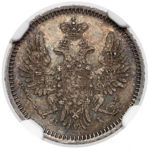 Rosja, Mikołaj I, 5 kopiejek 1854 HI, Petersburg