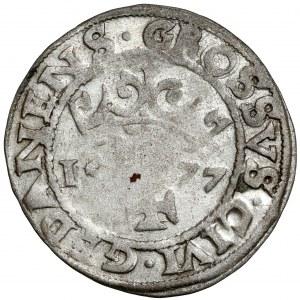 Oblężenie Gdańska, Grosz oblężniczy 1577 - Talleman - RZADKI