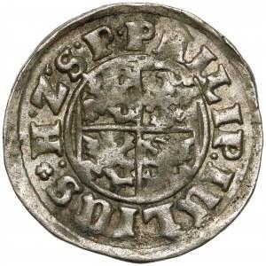 Pomorze, Filip Juliusz, Półtorak (Reichsgroschen) 1611, Nowopole