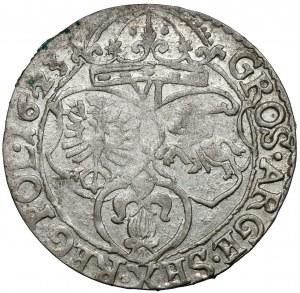 Zygmunt III Waza, Szóstak Kraków 1623 - SIGIS - b.ładny