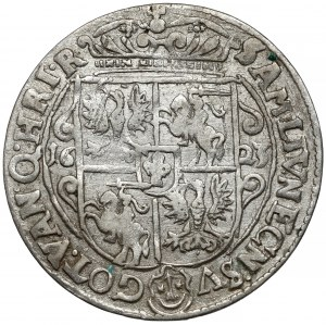 Zygmunt III Waza, Ort Bydgoszcz 1623 - PRV M - typ III - kwiatki