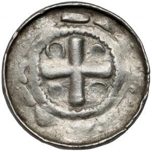 Denar krzyżowy CNP VI - Krzyż prosty - rzadka odmiana