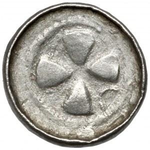 Denar krzyżowy CNP VII - z pastorałem - nieopisany