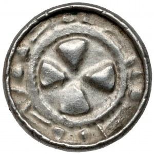 Denar krzyżowy CNP VI - Krzyż prosty - piękny
