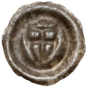 Zakon Krzyżacki, Brakteat - Tarcza z krzyżem (1307-1318) - dwie kule