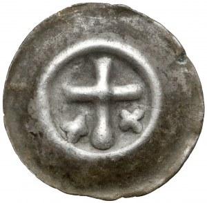 Zakon Krzyżacki, Brakteat - Krzyż łaciński (1317-1328)