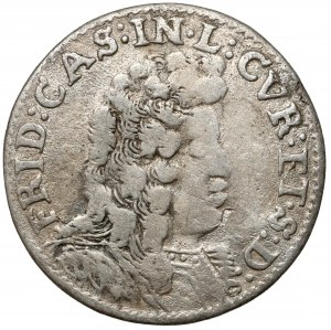 Kurlandia, Fryderyk Kazimierz Kettler, Szóstak Mitawa 1694