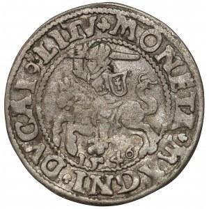 Zygmunt II August, Półgrosz Wilno 1546 - wczesny typ - ex. Kałkowski