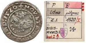 Zygmunt I Stary, Półgrosz Wilno 1520 - SIGIMVND - ex. Kałkowski