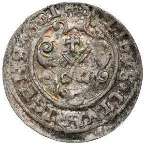 Zygmunt III Waza, Szeląg Ryga 1601 - ex. Kałkowski
