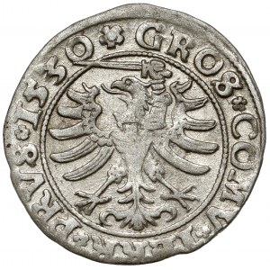 Zygmunt I Stary, Grosz Toruń 1530 - miecz w lewo