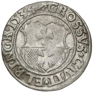 Zygmunt I Stary, Grosz Elbląg 1534 - ELBINGK