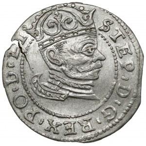 Stefan Batory, Grosz Ryga 1582 - bardzo ładny