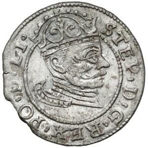 Stefan Batory, Grosz Ryga 1582