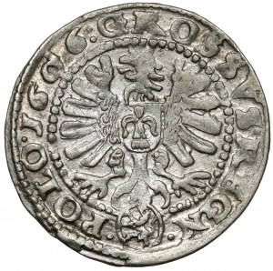 Zygmunt III Waza, Grosz Kraków 1606 - bardzo ładny