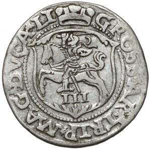 Zygmunt II August, Trojak Wilno 1562 - LI/LI