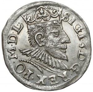 Zygmunt III Waza, Trojak Poznań 1591 - piękny
