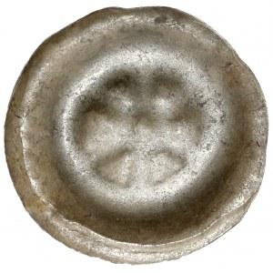 Brakteat - koło o sześciu szprychach