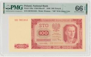 100 złotych 1948 - ER