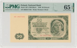 50 złotych 1948 - BB