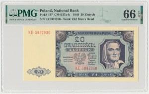 20 złotych 1948 - KE