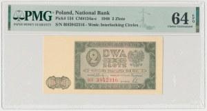 2 złote 1948 - BH