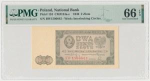 2 złote 1948 - BW