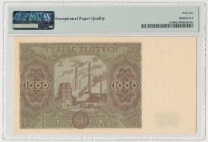 1.000 złotych 1947 - duża litera
