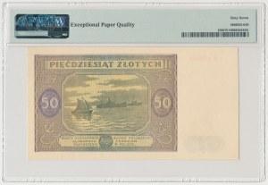 50 złotych 1946 - mała litera