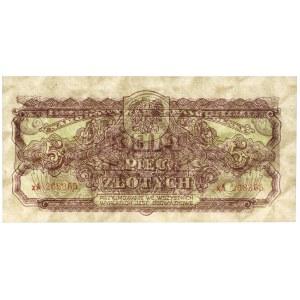 5 złotych 1944 ...owe - xA - seria zastępcza