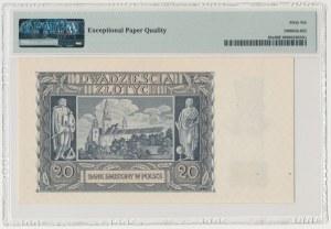 20 złotych 1940 - O
