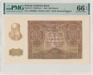 100 złotych 1940 - Ser.A
