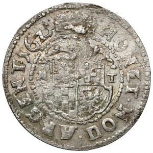 Śląsk, Jerzy Rudolf, ĆWIERĆTALAR 1621 MT, Chojnów - rzadki