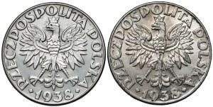 50 groszy 1938 - zestaw (2szt)