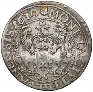 Zygmunt III Waza, Ort Gdańsk 1610 - bardzo rzadki